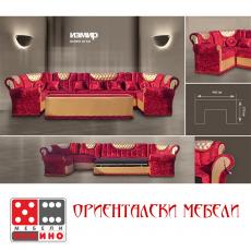 луксозен диван спалня СОНЯ-2 От Мебели Домино - Варна