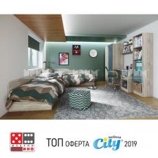 Полица модул Сити 362 От Мебели Домино - Варна