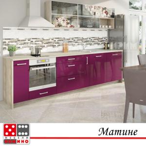 Кухня по проект Пепино От Мебели домино Варна
