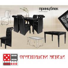 Кухненскки комплект Принц Блек От Мебели домино Варна