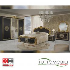 Италианска спалня Вилма Bianco/Nero От Мебели домино Варна