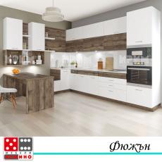 Кухня по проект Личи От Мебели домино Варна