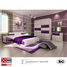 Спален комплект Палермо - ГЛАНЦ От Мебели домино Варна