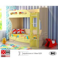 Двуетажно легло за детска стая От Мебели домино Варна