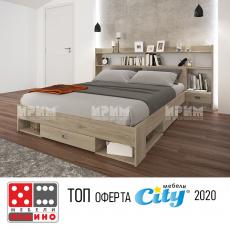 Спален комплект Сити 7048 От Мебели домино Варна