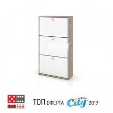 Шкаф за обувки Сити 4042 От Мебели домино Варна