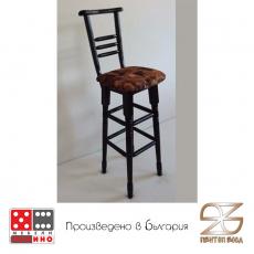 Бар стол с облегалка От Мебели домино Варна