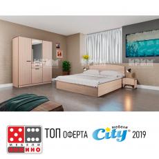 Спален комплект Сити 7039 От Мебели домино Варна