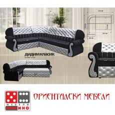 Холов ъгъл Дидим Класик От Мебели домино Варна