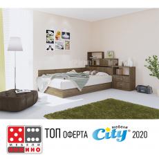 Легло приста Сити 7032 От Мебели домино Варна