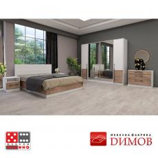 Легло Дамяна М 004 А/В От Мебели домино Варна
