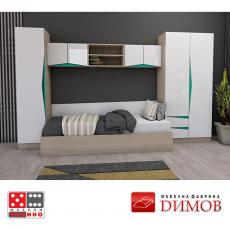 Скрин Дамяна М 027 A/В От Мебели домино Варна