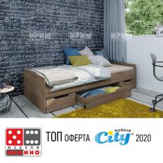 Единично легло Сити 2021 От Мебели домино Варна