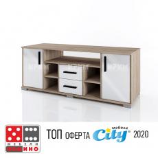 ТВ шкаф Сити 6244 От Мебели домино Варна