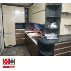 Кухня по проект Домино 25 От Мебели домино Варна