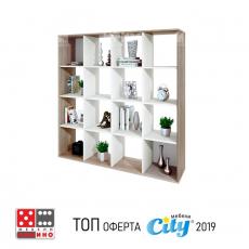 Етажерка Сити 6228 От Мебели домино Варна