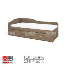 Единично легло Сити 2023 От Мебели домино Варна