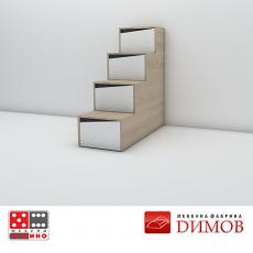 Стълби за двуетажно легло Марти М20 От Мебели домино Варна