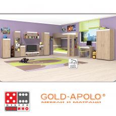 Модулна система за детска стая Крис От Мебели домино Варна