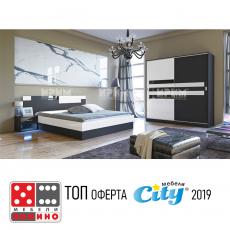 Спален комплект Сити 7022 От Мебели домино Варна