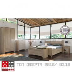 Спален комплект Сити 7025 От Мебели домино Варна