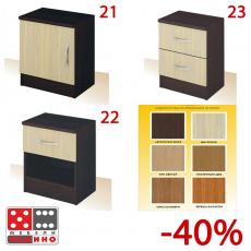 Нощно шкафче Примо 21,22,23 различни цветове От Мебели домино Варна