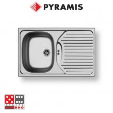 Кухненска мивка ET 78 Semiflat 78x43,5 От Мебели домино Варна