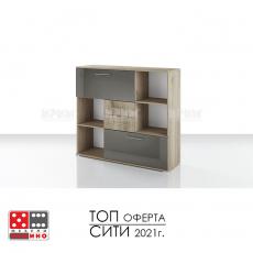 Офис шкаф етажерка Гранд модул 51 От Мебели домино Варна
