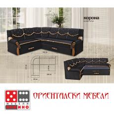 Холов ъгъл Корона От Мебели домино Варна