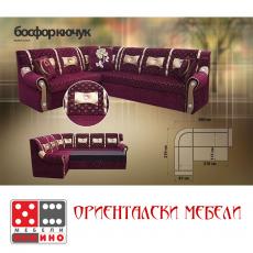 Холов ъгъл Босфор Кючук От Мебели домино Варна