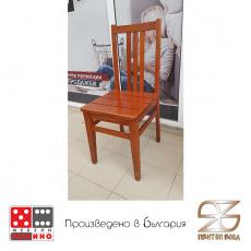 Трапезен стол Ареа с дървена седалка От Мебели домино Варна