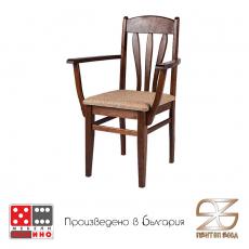 Трапезен стол Лале с подръчници От Мебели домино Варна