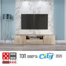 ТВ шкаф Сити 6232 От Мебели домино Варна