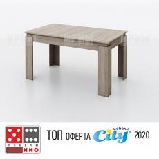 Трапезна маса Сити 6219 От Мебели домино Варна