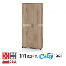 Висок шкаф модул Сити 6236 От Мебели домино Варна