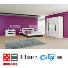 Спален комплект Сити 7013 От Мебели домино Варна
