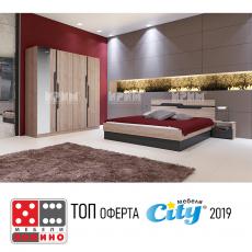 Спален комплект Сити 7012 От Мебели домино Варна