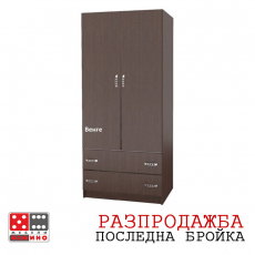Гардероб Економи М012 От Мебели домино Варна